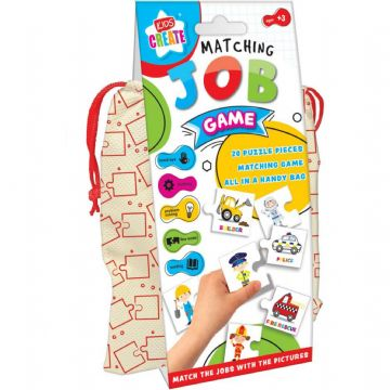 Childrens Educational Matching Jobs Game Kids Teaching